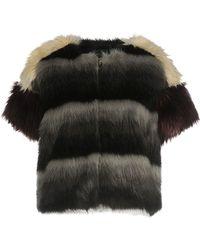 Boutique De La Femme - Faux Fur - Lyst