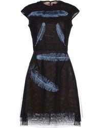 Marios Schwab - Short Dress - Lyst