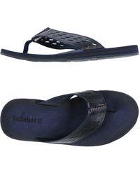 Timberland - Toe Post Sandal - Lyst