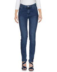 American Vintage - Denim Trousers - Lyst