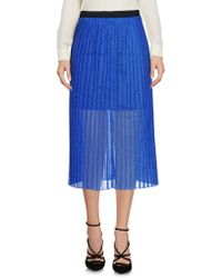 Replay - 3/4 Length Skirt - Lyst