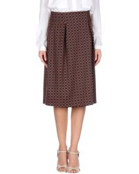 BGN - 3/4 Length Skirt - Lyst