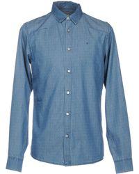 Calvin Klein Jeans - Denim Shirts - Lyst