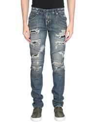 Balmain Pantalon en jean