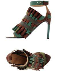 Erika Cavallini Semi Couture - Sandals - Lyst