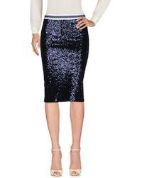 Shirtaporter - Knee Length Skirt - Lyst