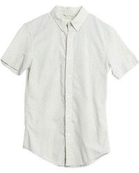 4738144876 Denim   Supply Ralph Lauren Camosleeved Western Shirt in Blue for ...