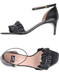 Boutique Moschino - Sandals - Lyst