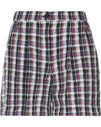 Erika Cavallini Semi Couture - Bermuda Shorts - Lyst