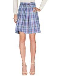 Incotex - Knee Length Skirts - Lyst