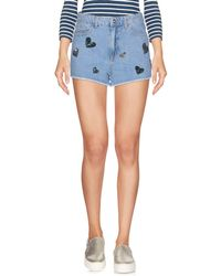 Chiara Ferragni - Denim Shorts - Lyst