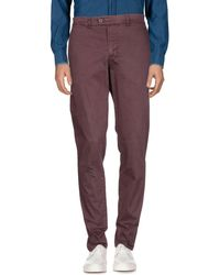 Alpha Studio - Casual Trouser - Lyst