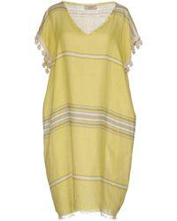 Luna Bi - Short Dress - Lyst