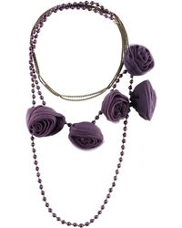 Twin Set - Necklaces - Lyst