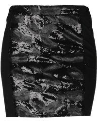 Ichi - Mini Skirt - Lyst