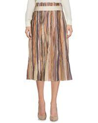 Altea - 3/4 Length Skirts - Lyst