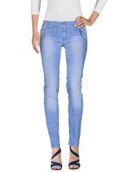 Jcolor - Denim Pants - Lyst