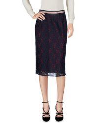 Scotch & Soda | Knee Length Skirt | Lyst