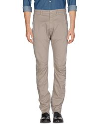 Poeme Bohemien - Casual Trousers - Lyst