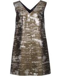 Jil Sander Navy - Short Dress - Lyst