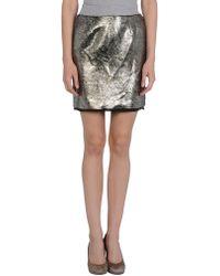 CoSTUME NATIONAL - Mini Skirt - Lyst