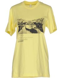 American Apparel - T-shirt - Lyst