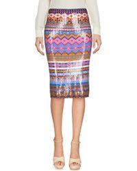 Sibling - Knee Length Skirts - Lyst