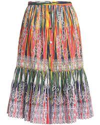Saloni - Knee Length Skirt - Lyst