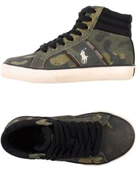 Ralph Lauren - High-tops & Sneakers - Lyst
