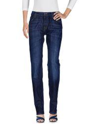 Lee Jeans - Denim Trousers - Lyst