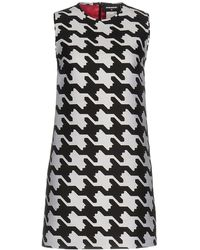 DSquared² - Babe Wire Silk and Cotton-Blend Mini Dress - Lyst