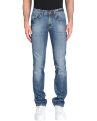Bikkembergs - Denim Trousers - Lyst