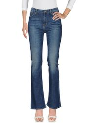 Edwin - Denim Trousers - Lyst