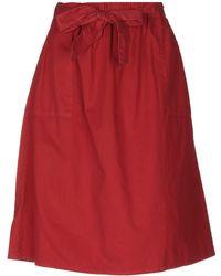 Hartford - Knee Length Skirt - Lyst