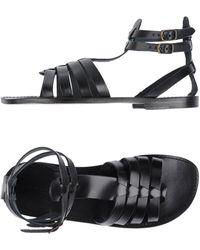 L'artigiano Del Cuoio - Sandals - Lyst