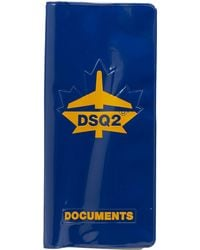 DSquared² Porte-documents - Bleu