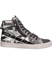 DIESEL - Sneakers & Tennis shoes alte - Lyst