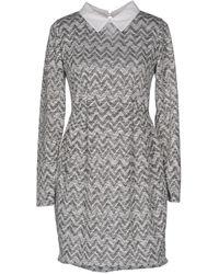 Mezzo - Short Dresses - Lyst
