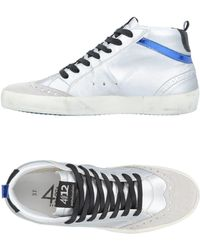 Quattrobarradodici - High-tops & Trainers - Lyst