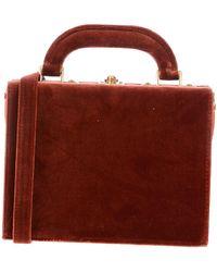 7a392ee031e38 Lyst - Louis Vuitton Speedy Leder Handtaschen in Rot