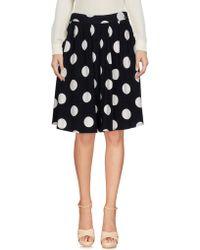 Twin Set - Knee Length Skirt - Lyst