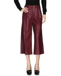 Forever Unique - 3/4-length Trousers - Lyst
