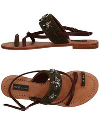 Rada' - Toe Post Sandal - Lyst