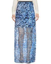 Elie Tahari | Long Skirt | Lyst