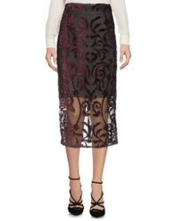 I Blues - 3/4 Length Skirt - Lyst