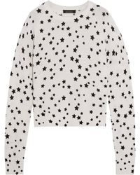 f4a0ec6b5b4 Equipment Ryder Intarsia Cashmere Sweater in Black - Lyst