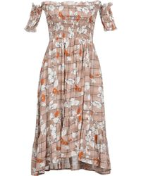 Care Of You - Short Dress - Lyst