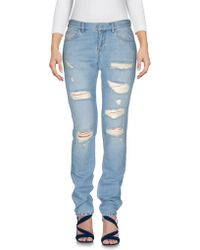 Faith Connexion - Denim Trousers - Lyst
