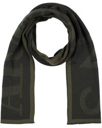 3a8cd5241a447 Armani Jeans Signature Black/light Gray Wool Blend Men's Scarf in Black for  Men - Lyst