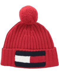 Tommy Hilfiger - Big Flag Knit Beanie - Lyst